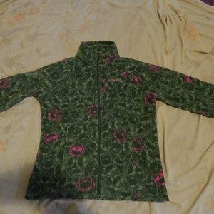 Columbia MTR  Fleece Owl Print Jacket